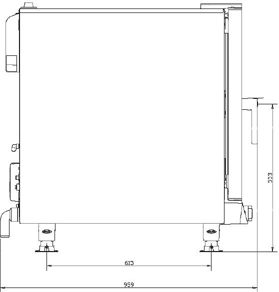 Схема монтажа UNOX XV 593