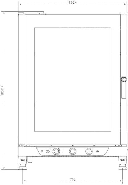 Схема монтажа UNOX XV 893